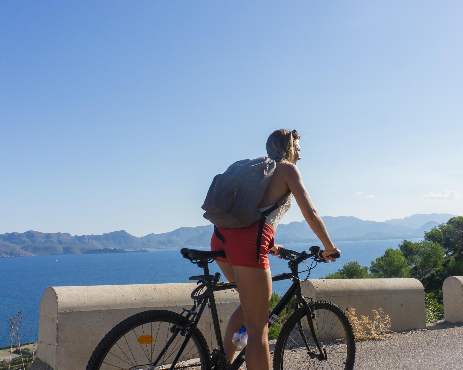 Biking in Alcudia
