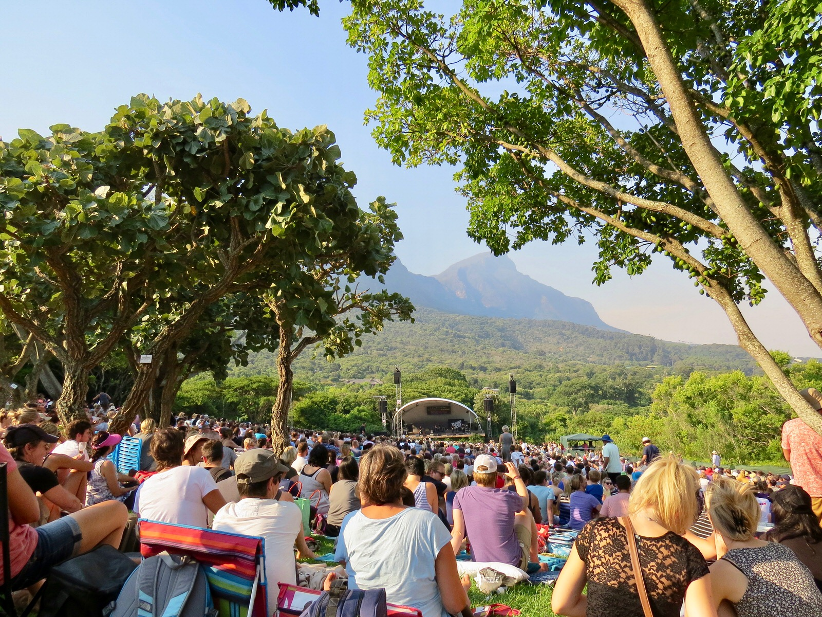 Summer concert at Kistenbosch Cape Town