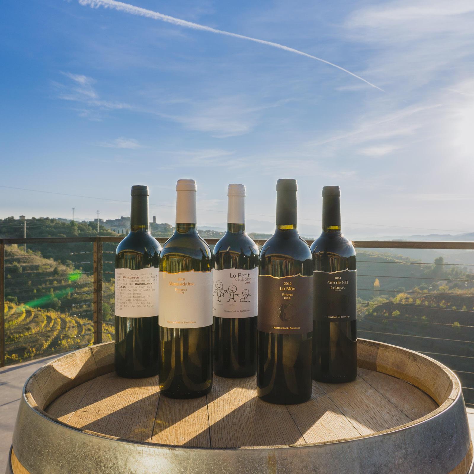 Trossos del Priorat wines